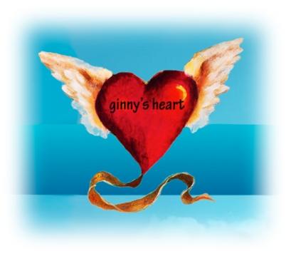 Ginnys heart logo vin